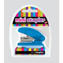 Translucent Mini Stapler w/ 26/6 Staples