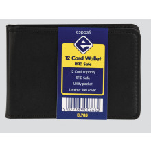 12 Card Wallet RFID Safe
