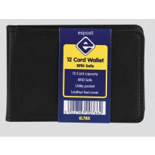 S9914 12 Card Wallet RFID Safe