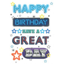 S13339 Cards Male Birthday
