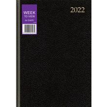 DD00101 A4 WTV Desk Diary 3 Asst