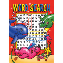 A4 Junior Word Search 40 Pages 4 Asstd