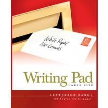 Pads Letterbox Large White Plain