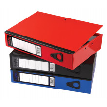Pukka Foolscap Box Files Asst Colours