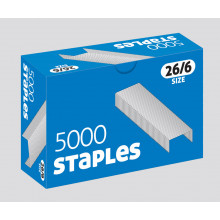 Staples 26/6 5000 Boxed
