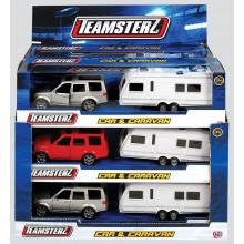 Teamsterz Car & Caravan Assorted
