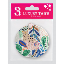 Gift Tags Lush Jungle 3Pk