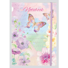 Les Papillon Banded Notebook