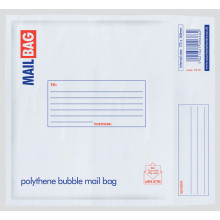 CD Bubble Poly Mail Bag 165x175mm