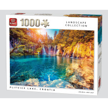 1000pc Puzzle Plitvice Lake Croatia