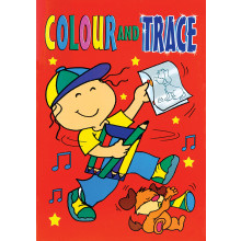 Colour & Trace Books 4 Asstd