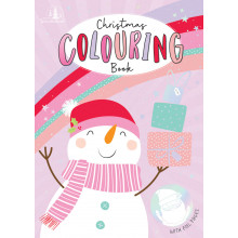 XD05207 Elf/Snowman Colouring Book A6