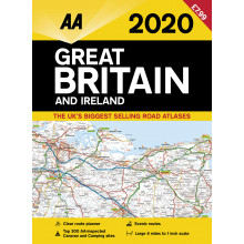 AA Great Britain Road Atlas 2020