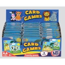 Childrens Card Games In Tin - Assorted
