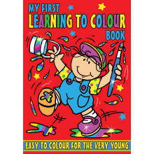 My 1st Learning To Colour Book 4 Asst