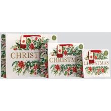 XD02208 Gift Bag Foliage Medium Shopper