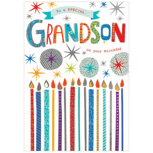 Greetings Cards Grandson