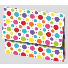 Foolscap Printed Card Document Wallets