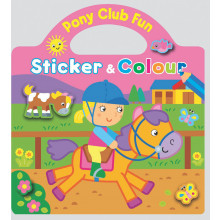 Pony Club Sticker & Colouring Book