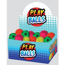 "Sponge Rubber Sports Balls 6cm/2.25"""