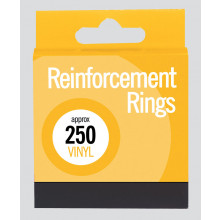 S4107 Vinyl Reinforcement Rings 250's