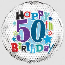 Foil Balloon Age 50 Male