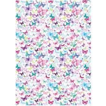 Flat Gift Wrap Butterflies GW2627