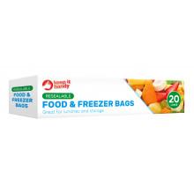 Food & Freezer Bags 20 Pack