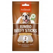 Jumbo Beefy Sticks x2