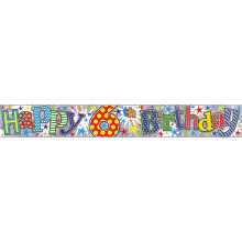2.5m Party Banner Age 6 Boy