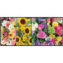 DD00507 Slim 2 WTV Diary Floral Asst