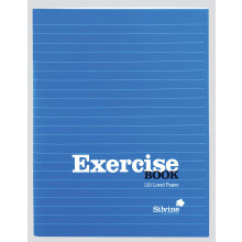 Silvine Exercise Book 203x165mm 120pgs