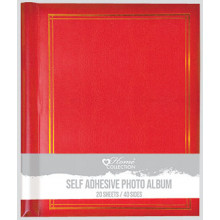 Photo Album Self Adhesive 20 Sheets Asst