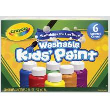 Crayola Washable Kids Paint 6 Bottles