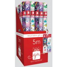 5M Roll Wrap Festive Fun