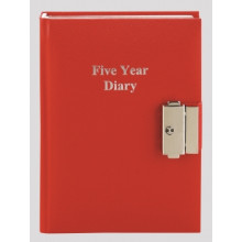Diary 5 Year Lockable