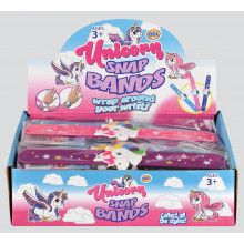 Unicorn Snap Bands Assorted