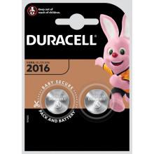 Duracell 2016 Lithium Button Batt. 2.3V