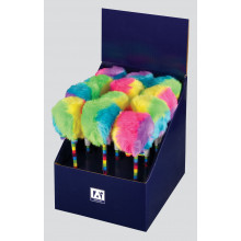 Fluffy Rainbow Ballpen CDU