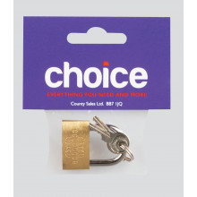 Choice Brass Padlock 30mm