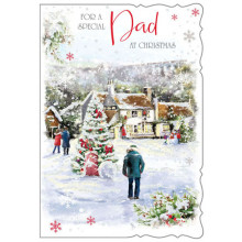 Partner Male Trad 50 Xmas Card