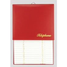 Hanging Telephone Index Book Assorted