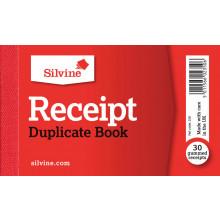Silvine Duplicate Receipt Book (30pgs)