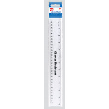 Club 30cm Ruler Shatter Resist
