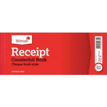 Silvine Receipt Counterfoil Book (40pgs)