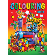 A4 Super Colouring Book 120 Pages 2 Asst