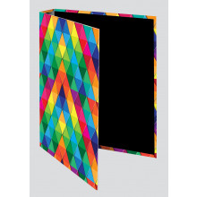 A4 Abstract Ring Binders Assorted