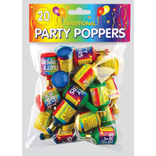 Party Poppers Bag 20s