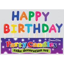 Happy Birthday Pick Candles
