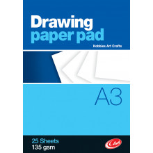 Club A3 Drawing Paper Pad 25pgs 135gsm